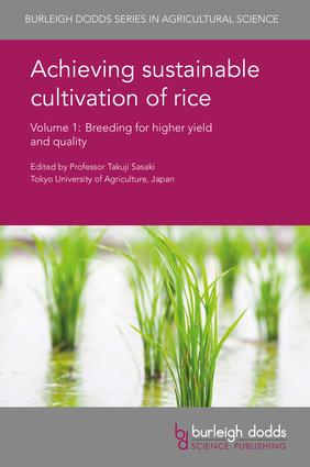 Achieving sustainable cultivation of rice Volume 1