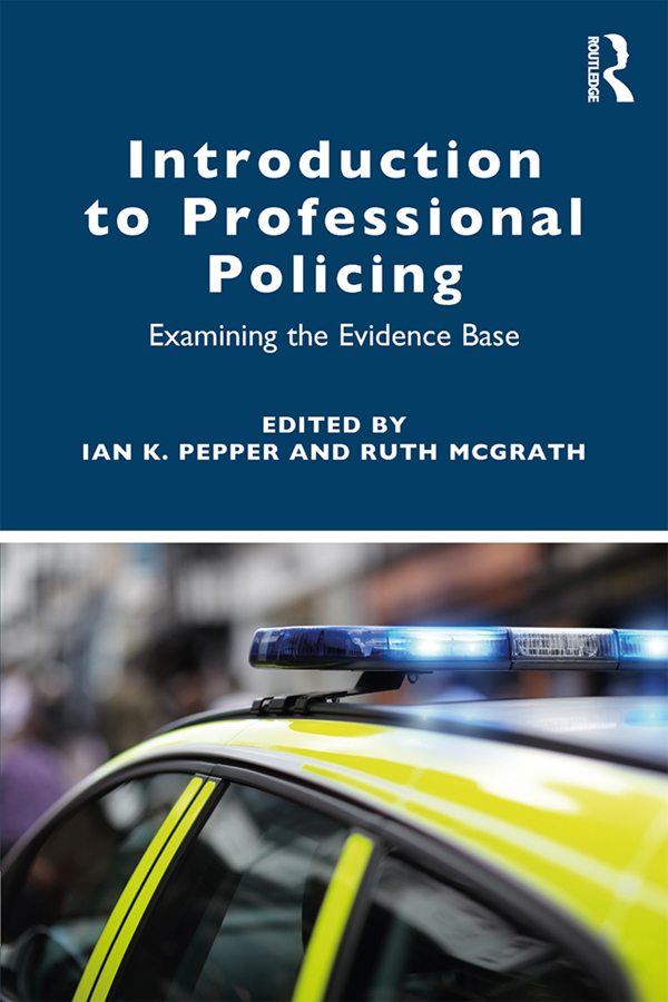 An introduction to policing roles and responsibilities