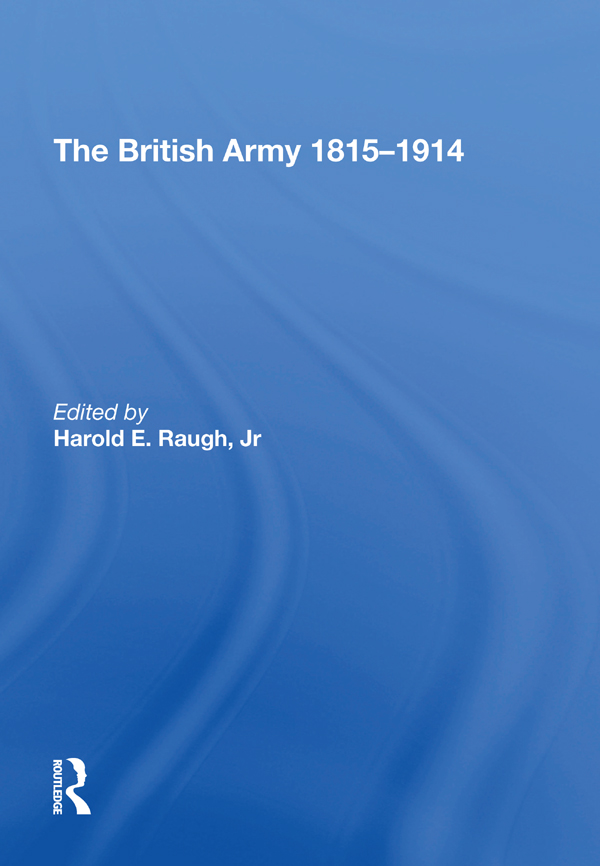 The British Army 1815-1914 book cover