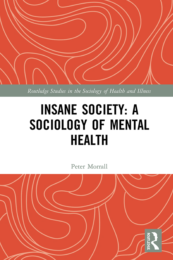 Insane Society: A Sociology of Mental Health book cover