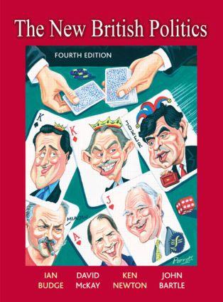 The New British Politics book cover
