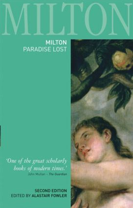 Milton: Paradise Lost book cover
