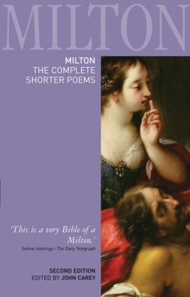 Milton: The Complete Shorter Poems: 2nd Edition (Paperback) book cover