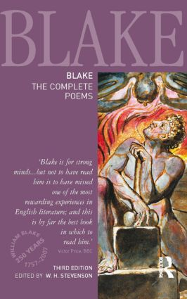 Blake: The Complete Poems book cover