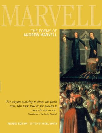 The Poems of Andrew Marvell book cover