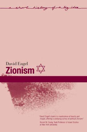 Zionism book cover