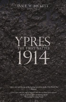 Ypres: The First Battle 1914, 1st Edition (Paperback) book cover