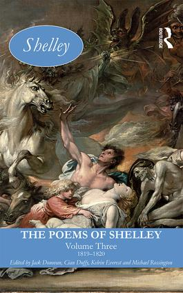 The Poems of Shelley: Volume Three: 1819 - 1820 book cover