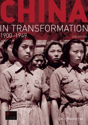 China in Transformation: 1900-1949, 2nd Edition (Paperback) book cover