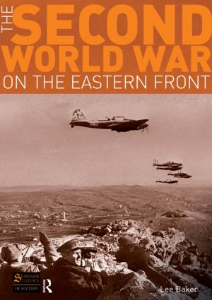 The Second World War on the Eastern Front: 1st Edition (Paperback) book cover
