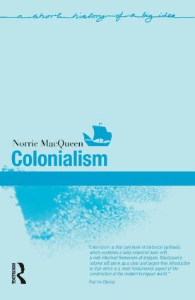 Colonialism: 1st Edition (Paperback) book cover