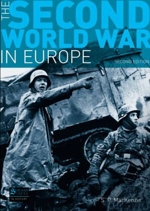 The Second World War in Europe: Second Edition, 2nd Edition (Paperback) book cover