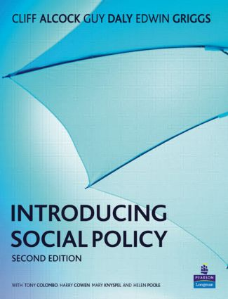 Introducing Social Policy book cover