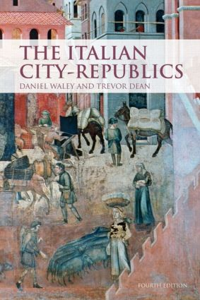 The Italian City Republics: 4th Edition (Paperback) book cover