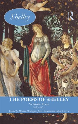 The Poems of Shelley: Volume Four: 1820-1821 (Hardback) book cover