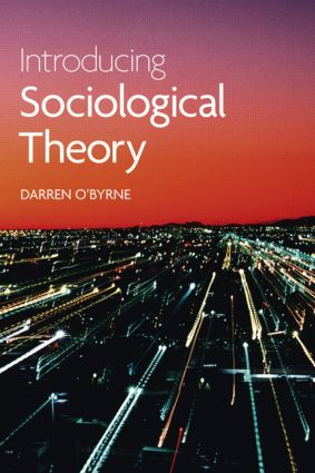 Cover:Introducing sociological theory