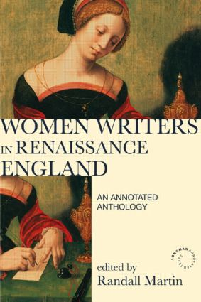 Women Writers in Renaissance England: An Annotated Anthology book cover