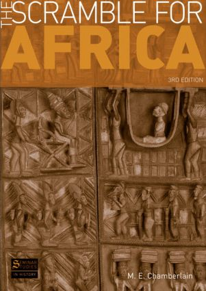 The Scramble for Africa: 3rd Edition (Paperback) book cover
