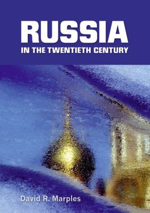 Russia in the Twentieth Century: The quest for stability, 1st Edition (Paperback) book cover