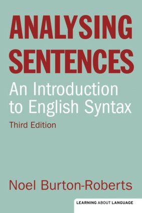 Analysing Sentences