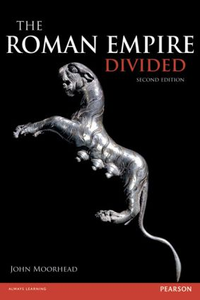 The Roman Empire Divided: 400-700 AD, 2nd Edition (Paperback) book cover