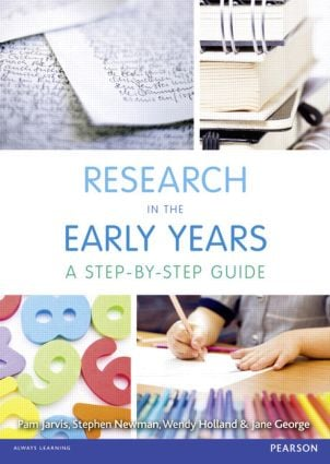 Research in the Early Years: A step-by-step guide, 1st Edition (Paperback) book cover