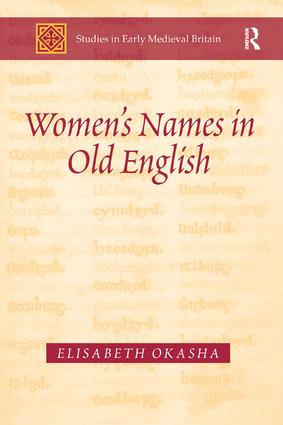 Women's Names in Old English book cover