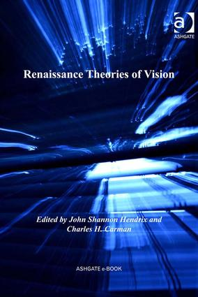 Renaissance Theories of Vision (Hardback) book cover