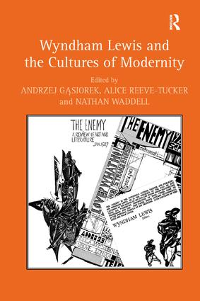 Wyndham Lewis and the Cultures of Modernity (Hardback) book cover