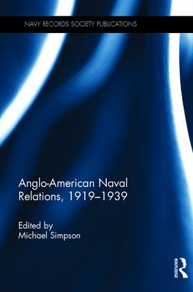 Anglo-American Naval Relations, 1919–1939 book cover