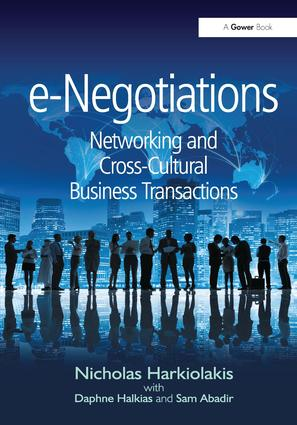 e-Negotiations: Networking and Cross-Cultural Business Transactions book cover