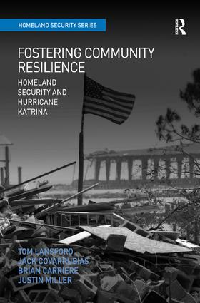Fostering Community Resilience (Hardback) book cover