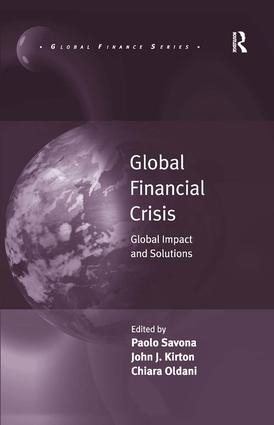 Global Financial Crisis: Global Impact and Solutions book cover