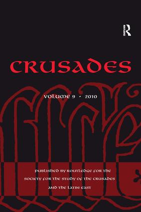 Crusades: Volume 9 (Hardback) book cover