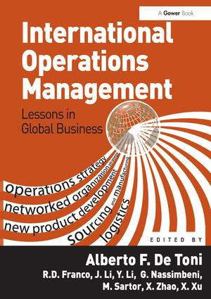 International Operations Management: Lessons in Global Business, 1st Edition (Hardback) book cover