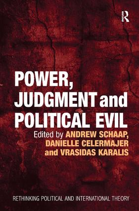 Power, Judgment and Political Evil: In Conversation with Hannah Arendt (Hardback) book cover