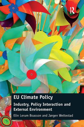 EU Climate Policy: Industry, Policy Interaction and External Environment (Hardback) book cover