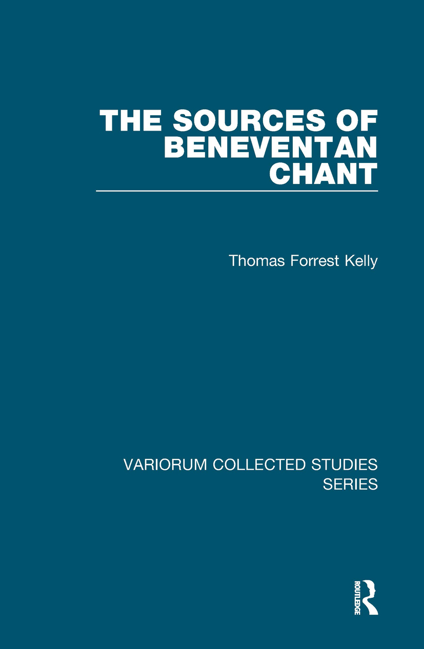 The Sources of Beneventan Chant book cover