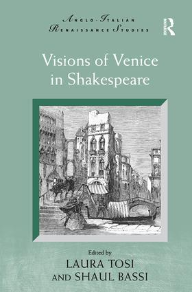 Visions of Venice in Shakespeare book cover