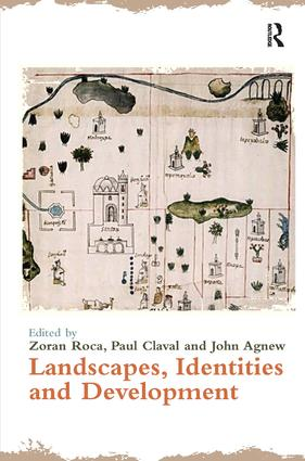 Landscapes, Identities and Development (Hardback) book cover