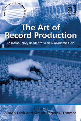 The Art of Record Production (Hardback) book cover