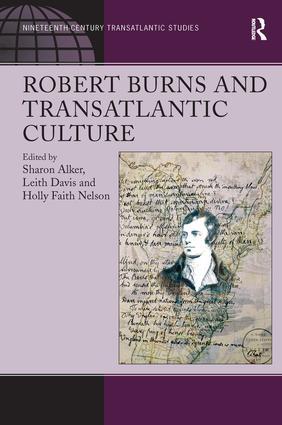 Robert Burns and Transatlantic Culture (Hardback) book cover