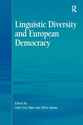 Linguistic Diversity and European Democracy (Hardback) book cover