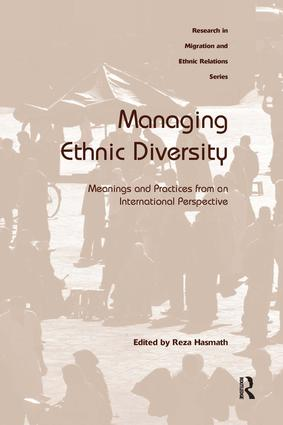 Managing Ethnic Diversity: Meanings and Practices from an International Perspective, 1st Edition (Hardback) book cover