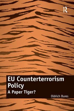 EU Counterterrorism Policy: A Paper Tiger? (Hardback) book cover