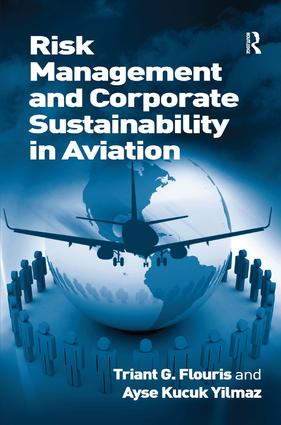 Risk Management and Corporate Sustainability in Aviation: 1st Edition (Paperback) book cover