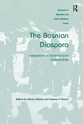 The Bosnian Diaspora (Hardback) book cover