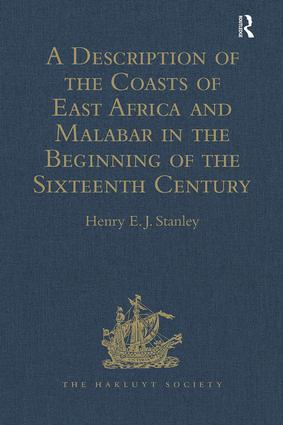 A Description of the Coasts of East Africa and Malabar in the Beginning of the Sixteenth Century, by Duarte Barbosa, a Portuguese: 1st Edition (Hardback) book cover