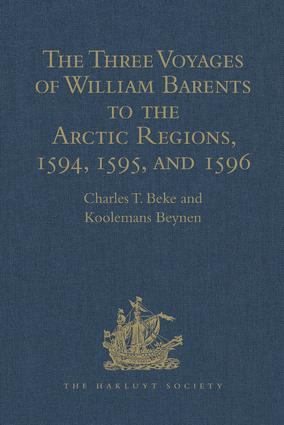 The Three Voyages of William Barents to the Arctic Regions, 1594, 1595, and 1596, by Gerrit de Veer: 2nd Edition (Hardback) book cover