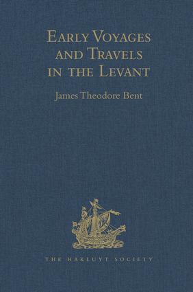 Dr. Covel's Diary (1670-1679)